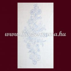 Pre-stamped picture - hand embroidery - hungarian folk motif - rectangular - 30x56 cm