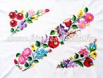 Table runner - hungarian hand embroidery - Kalocsa pattern - 54cm40 cm
