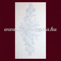 Hímezhető előnyomott kalocsai falikép - négyszögletes - 30x56 cm