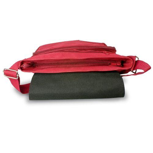 e8a3c1da68 Piros válltáska - kalocsai minta - gépi hímzés - 27x27x8 cm ...