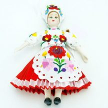 Kalocsa folk doll