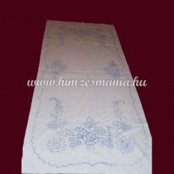 Pre-stamped table runner - hand embroidery - hungarien folk motif -  rectangular - 37x87 cm