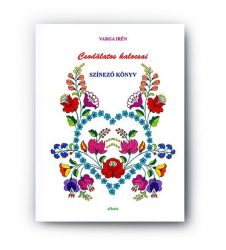 Coloring book - wonderful hungarian patterns from Kalocsa