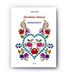 Coloring book - wonderful hungarian patterns from Kalocsa