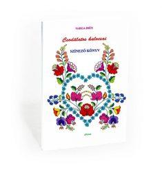 Népművészeti színező e-könyv - Csodálatos kalocsai