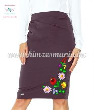 Skirt - hungarian color folk embroidery - Kalocsa style