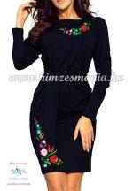 Women's clothing - folk y - Kalocsa style - navy