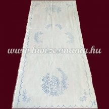 Pre-printed tablecloth - hand embroidery - easter pattern - oval - 37-86 cm