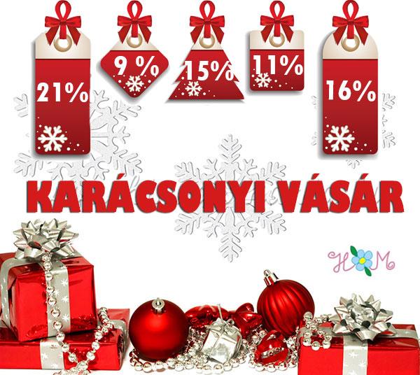 Karácsonyi Vásár! Karácsonyi kalocsai ajándékok akciós áron!